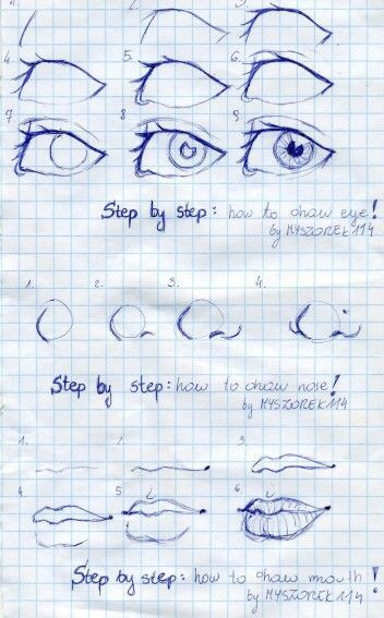 Photo of Drawing tutorial nose lips 61 ideas