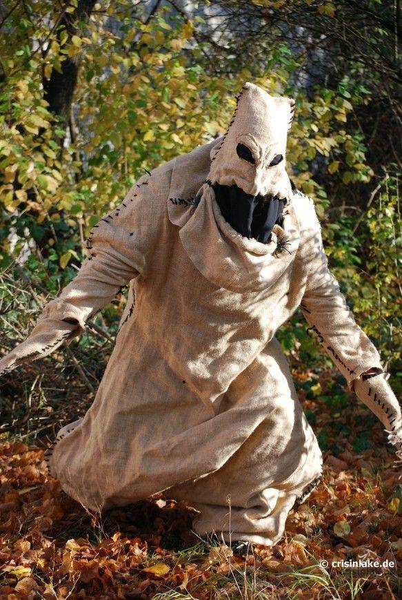 Awful Burlap Nightmare Before Christmas Costume Oogie Boogie - 2014 Halloween Deviant Art
