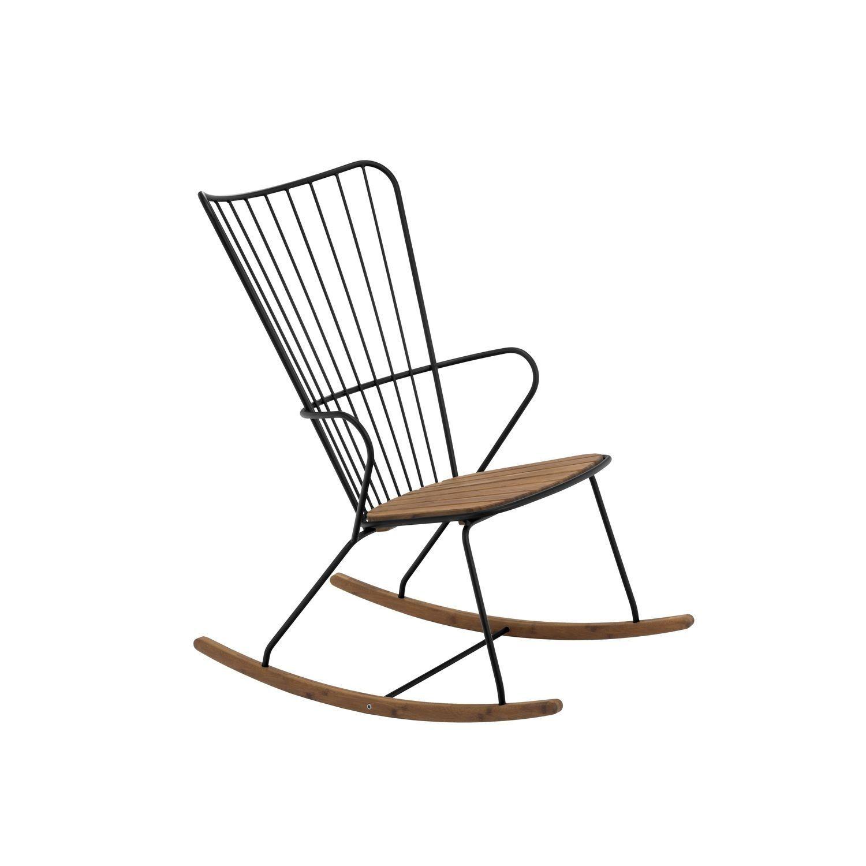 Houe Paon Schaukelstuhl Black Schaukelstuhl Stuhle Und Metallstuhle