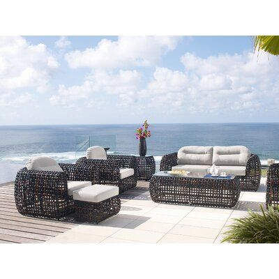 Skyline Design Dynasty 6 Piece Seating Group with Sunbrella Cushions | Perigold