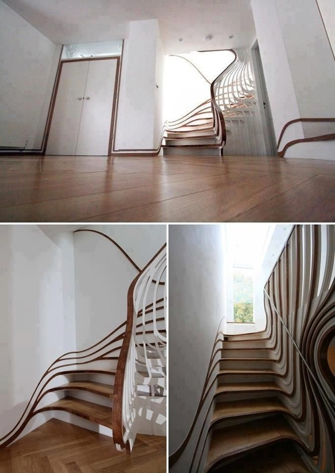 The COOOOOLest Staircase I have ever seen