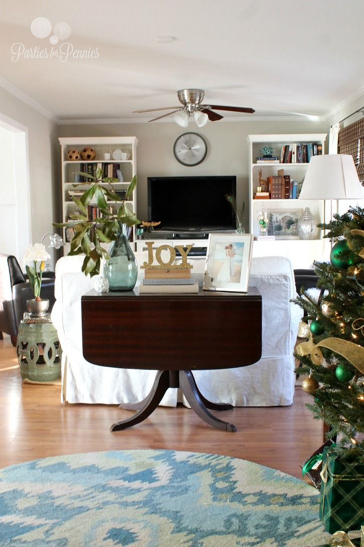 living room furniture budget%0A Home  Christmas EntertainingThe RoomPenniesChristmas DecorationsBudget