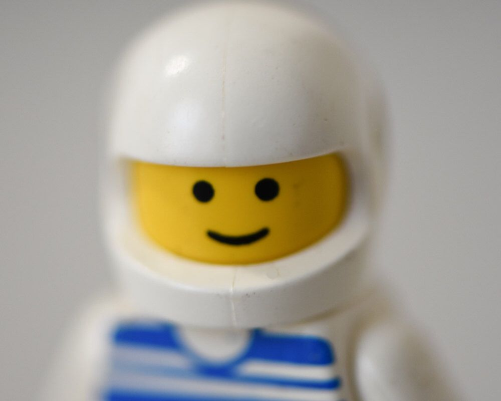 Lego Wall Art - lego figure space boy room decor 16x20 white blue ...