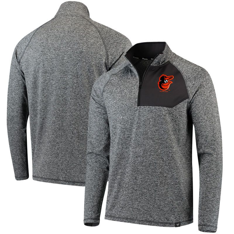 Baltimore Orioles Fanatics Branded Static Quarter Zip Pullover  for cheap