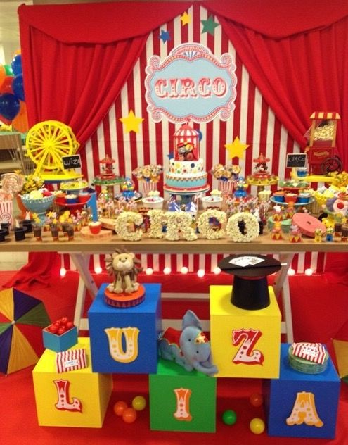 anniversaire cirque chapelle