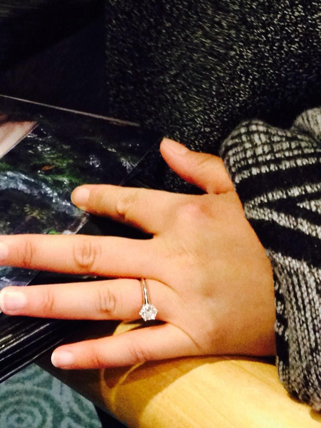 Ginny Goodwin's Engagement Ring