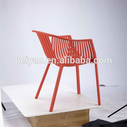 Chinese Supplier Popular Selling All PP Cheap Colorful Outdoor Plastic  Chairs