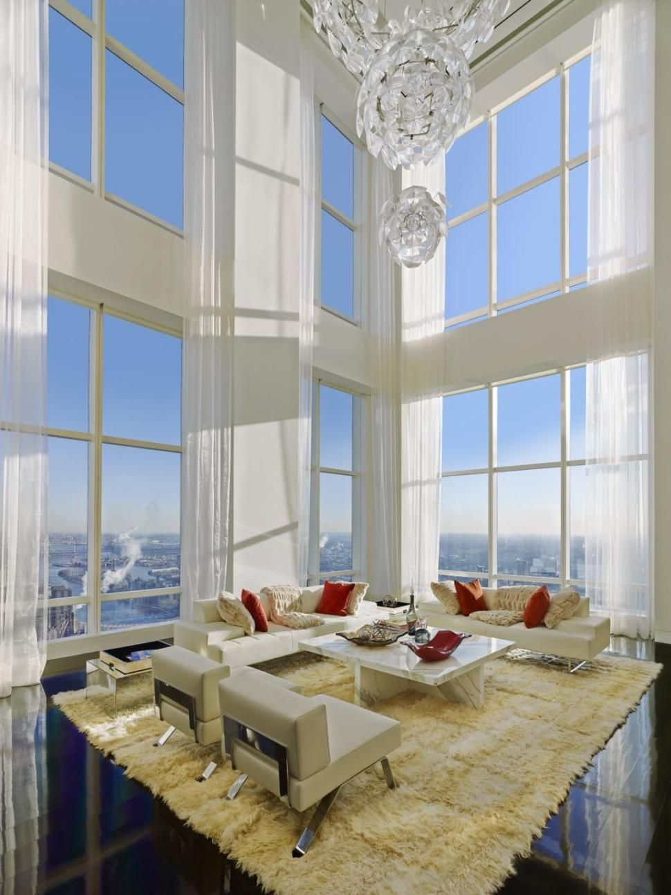 manhattan penthouse takes luxury to new heights luxury high rise rh pinterest com
