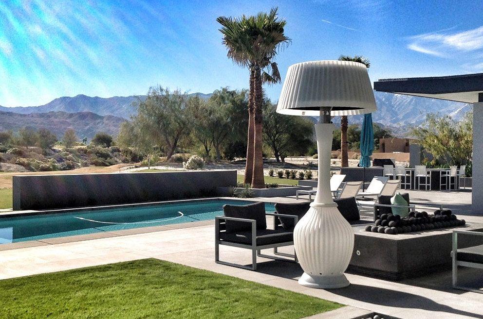 Allison Kindle Patio Heater Lamp Decorative Lamp Warmer   stay ...