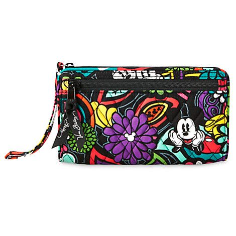 86a5b608792 Mickey s Magical Blooms Wristlet by Vera Bradley