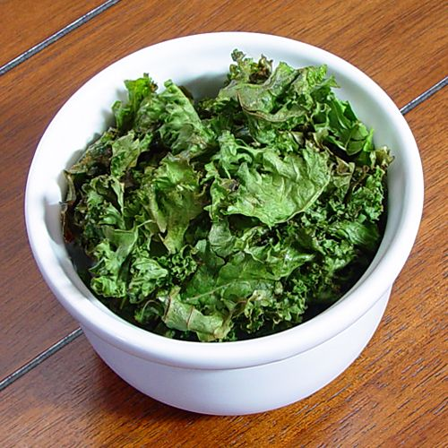 Baked Easy Kale Chips Recipe