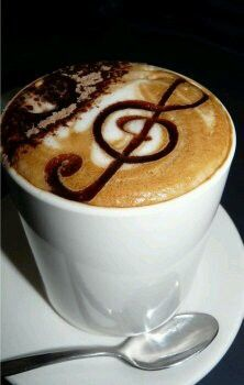 O cafea muzicala!?