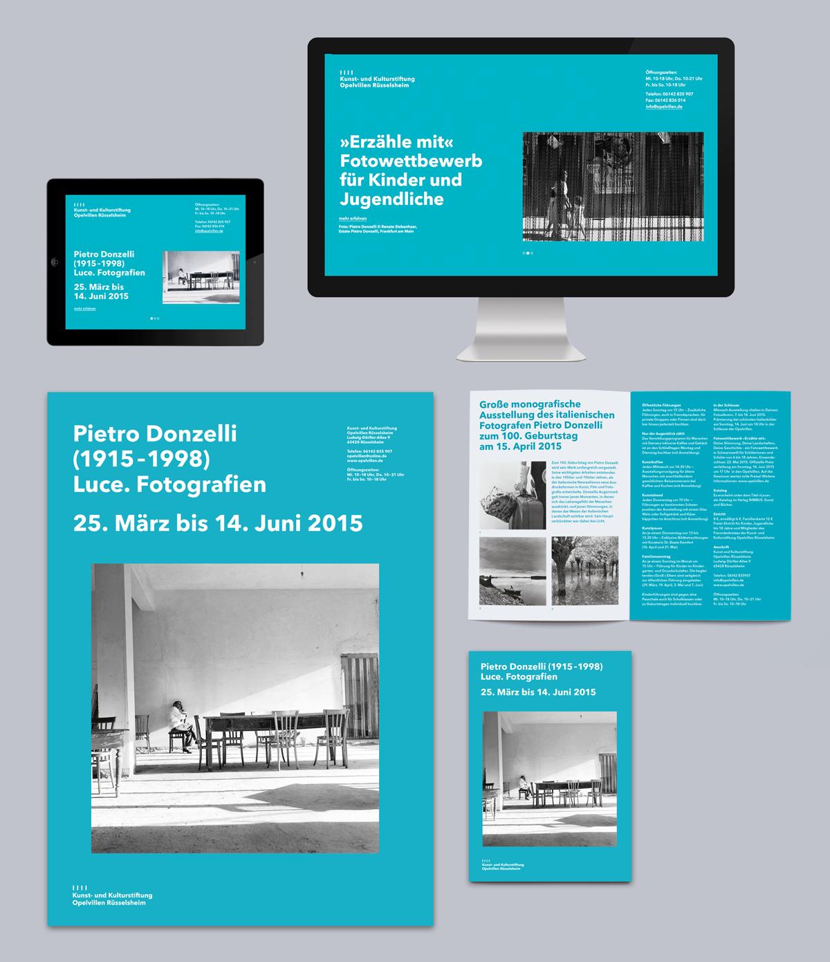 Erscheinungsbild Fur Die Kunst Und Kulturstiftung Opelvillen Russelsheim Bilder Fotografie Grafik Design