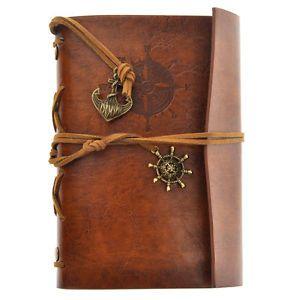 Reise Vintage Notizbuch Tagebuch Lederbuch Heft Reisetagebuch Gebunden Journal