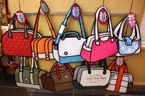 4c1460164e Jump From Paper Handbags Are Amazing! I have the pink bag and it s fabulous!