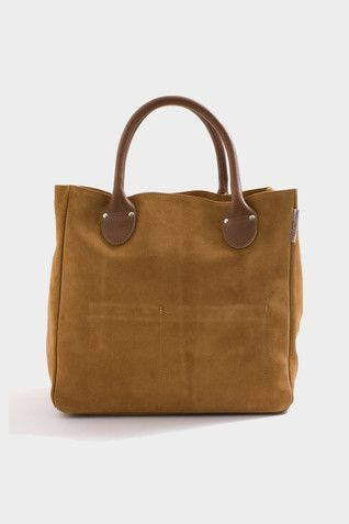 Suede Tool Tote | Bags In Progress