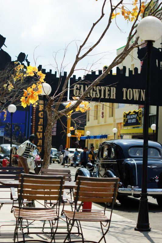 the gangster town part of museum angkut batu malang next trip rh pinterest com