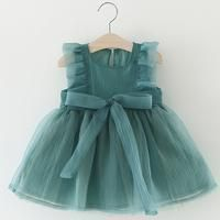 The Fancy Teal Party Dress #babygirlpartydresses