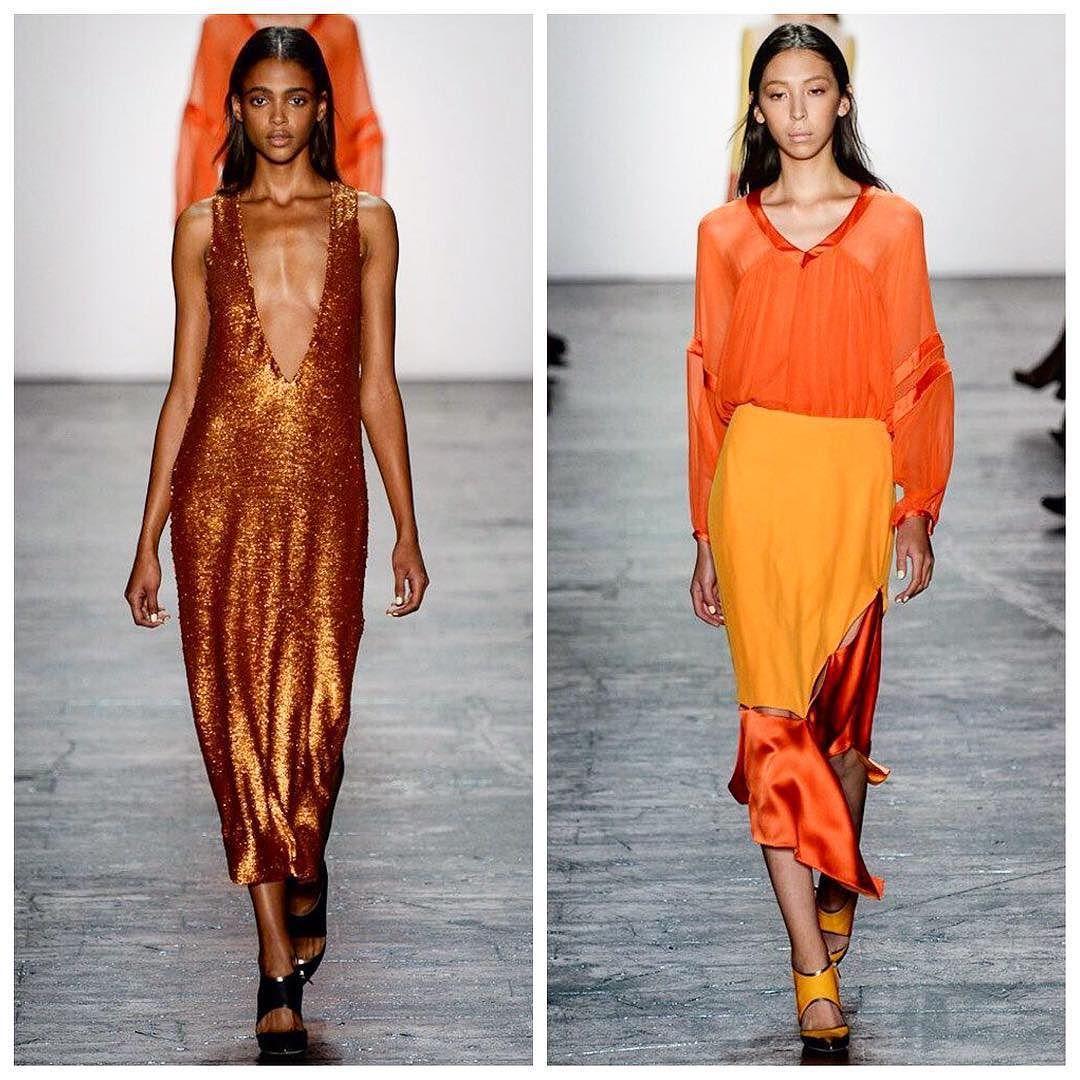 The mexican model @issalien in #nyfw @prabalgurung #mexican #runway #prabalgurung #pasarela #fashion #fashiongram #color #dress #woman #womenswear #womensfashion #moda #estilo #fashionweek #ny #nyc #ss16 #springsummer #spring #issalish #designer #nepal #orange #night photo by @yannisvlamos #yannisvlamos  https://t.co/J5cuMIX2hh