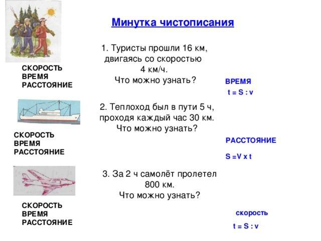Конспекты урока по математике за 4 класс по моро