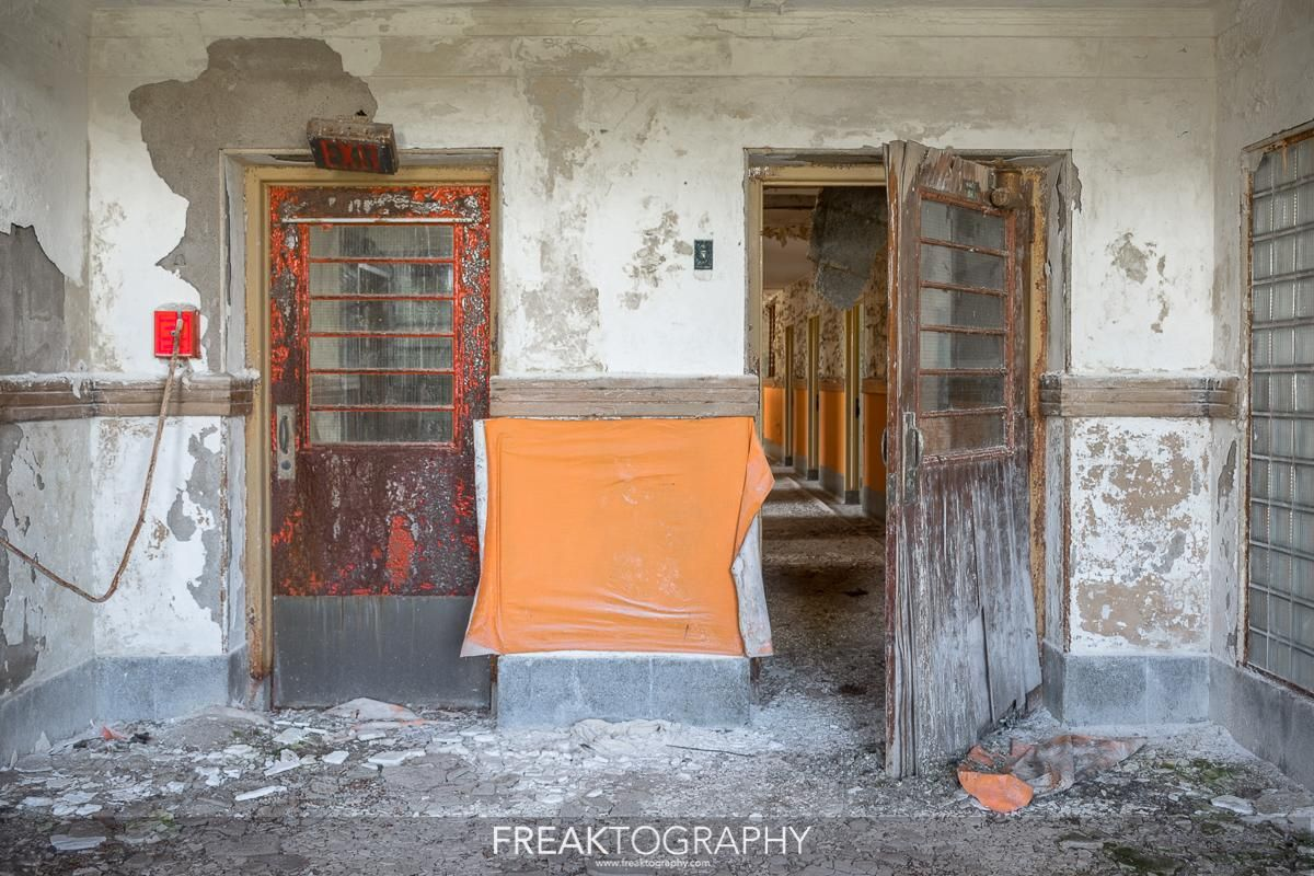 Inside a long abandoned psychiatric hospital in ontario