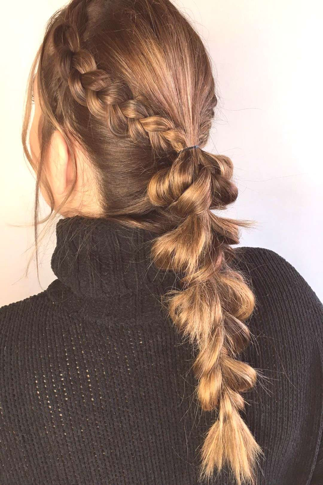 Quick 10 minute style for this lovely lady #hairstyles #braids #u