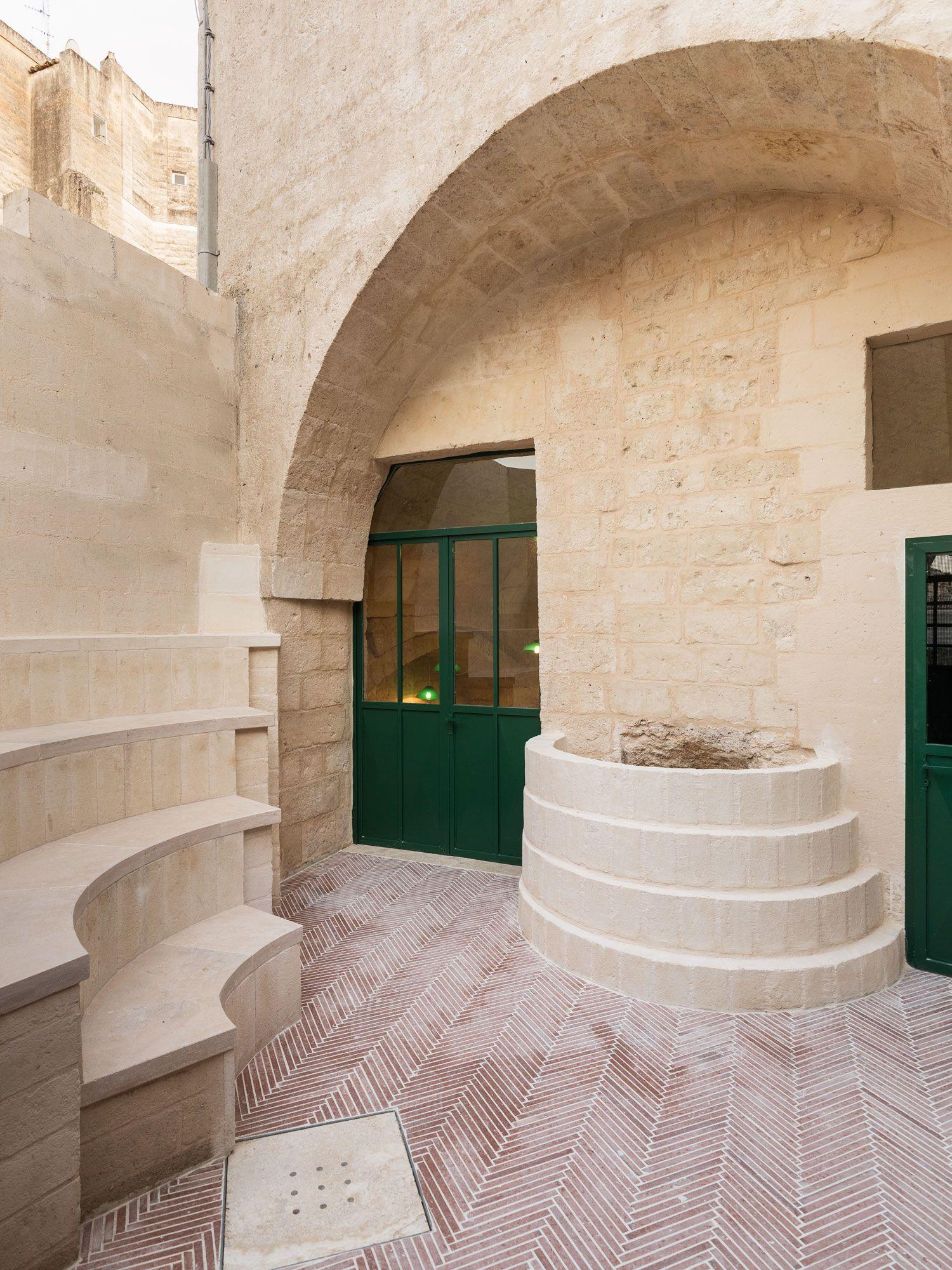 Enoteca dai Tosi in Matera, Italy by Architecten De Vylder Vinck ...