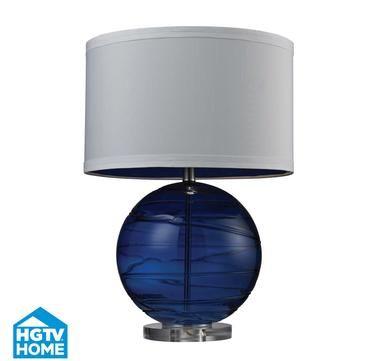 Dimond HGTV Table Lamp in Sapphire Blue