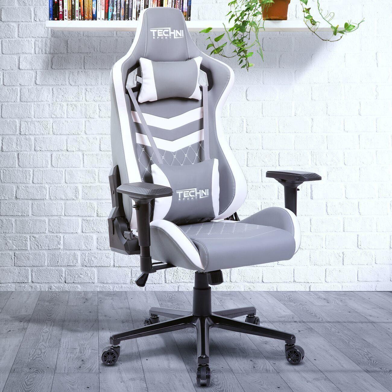 Modern design ergonomic high back racer style video gaming