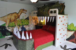 carter completes dinosaur bedroom makeover children inspired rh pinterest com