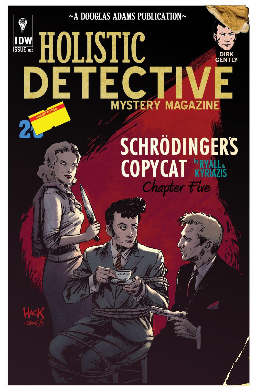 Dirk Gently's Holistic Detective Agency #5 Unused By  Roberthackiantart On @