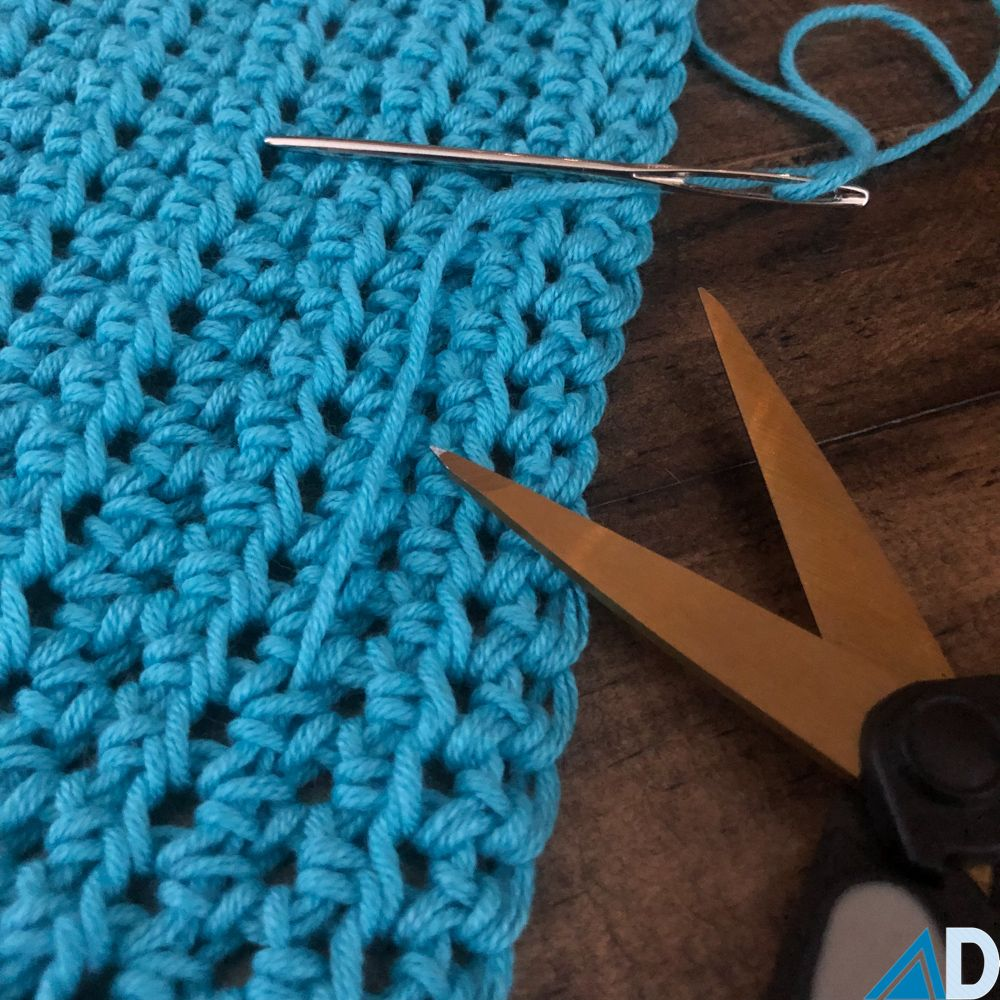 Weaving in Ends with Knit and Crochet Ashley Dylan