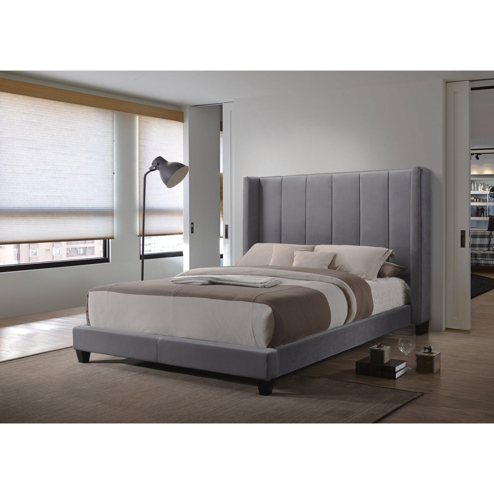 Coaster Furniture Hudson Upholstered Bed Size Twin Products In