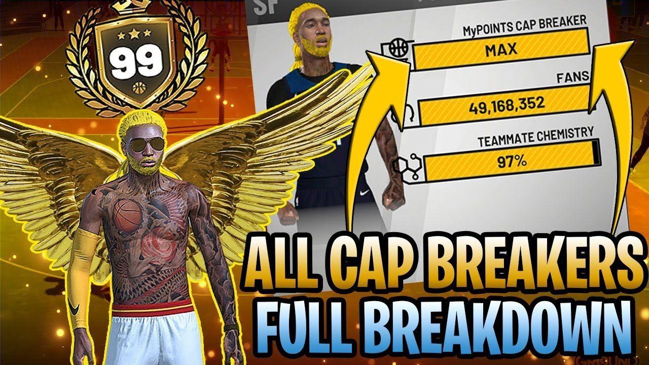 ALL CAP BREAKERS FOR ALL ARCHETYPES FULL BREAKDOWN - NBA