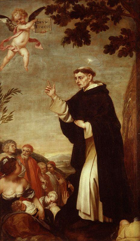 Alonso Cano San Vicente Ferrer Predicando San Vicente Santos Dominicos Santoral Catolico