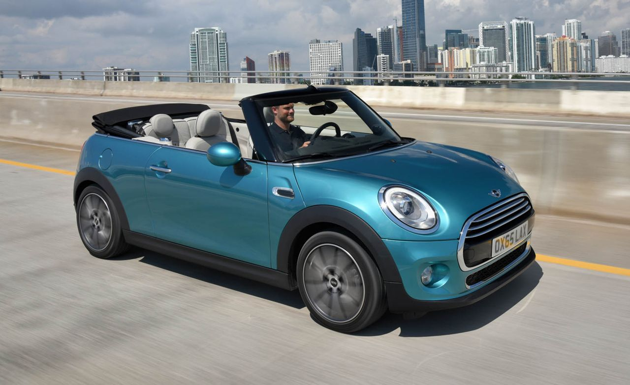 2016 mini cooper cooper s convertible all you d expect sans roof