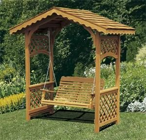 Amish Garden Wishing Well With Cedar Roof Small Garden