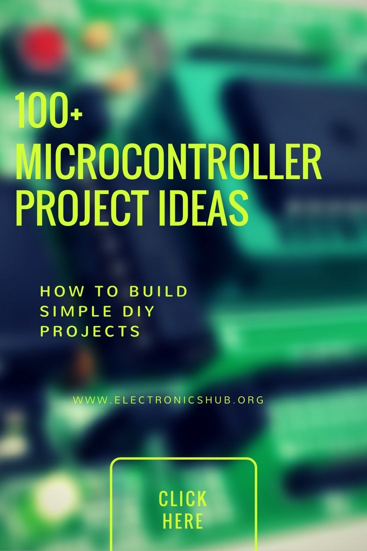 100 Microcontroller Based Mini Projects Ideas For Engineering Students Microcontrollers Pic Microcontroller Microcontroller Board