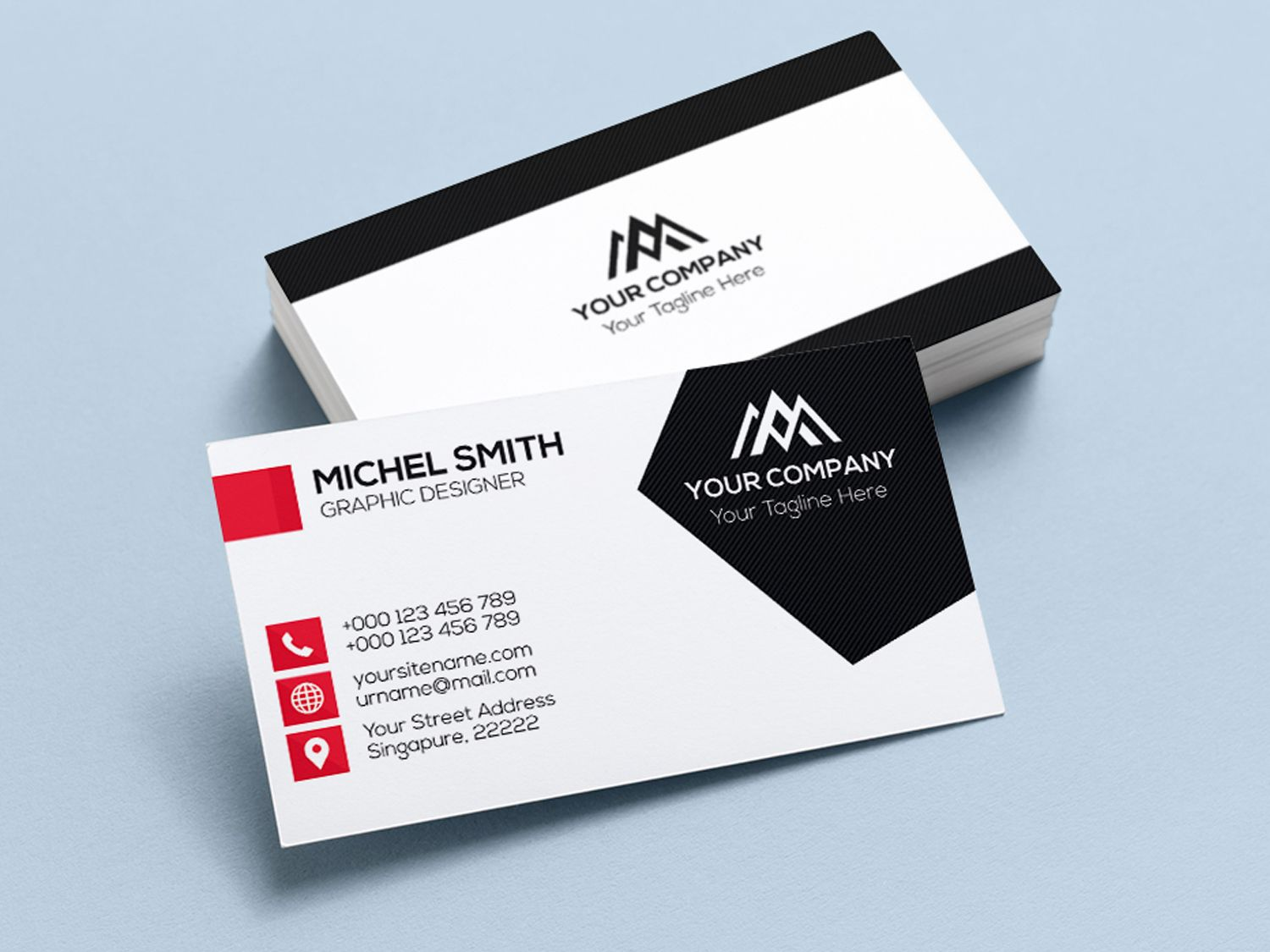 Pin By Marie Jahan On Business Cards With Images Modern