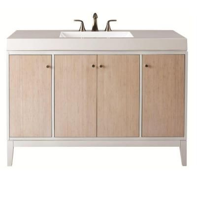 Home Decorators Collection Melbourne 49 In W X 35 In H Vanity In White With Marble Vanity Marble Vanity Tops White Sink Home Decorators Collection