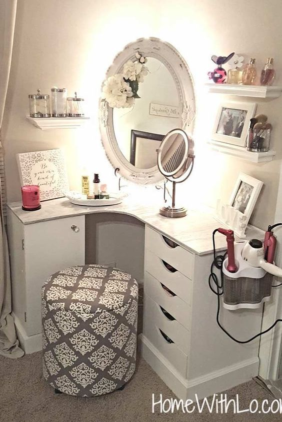15 Super Cool Vanity Ideas For Small Bedrooms With Images