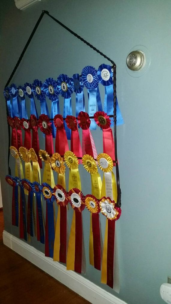 Horse Show Equestrian Ribbon Holder Display Rack Made With New