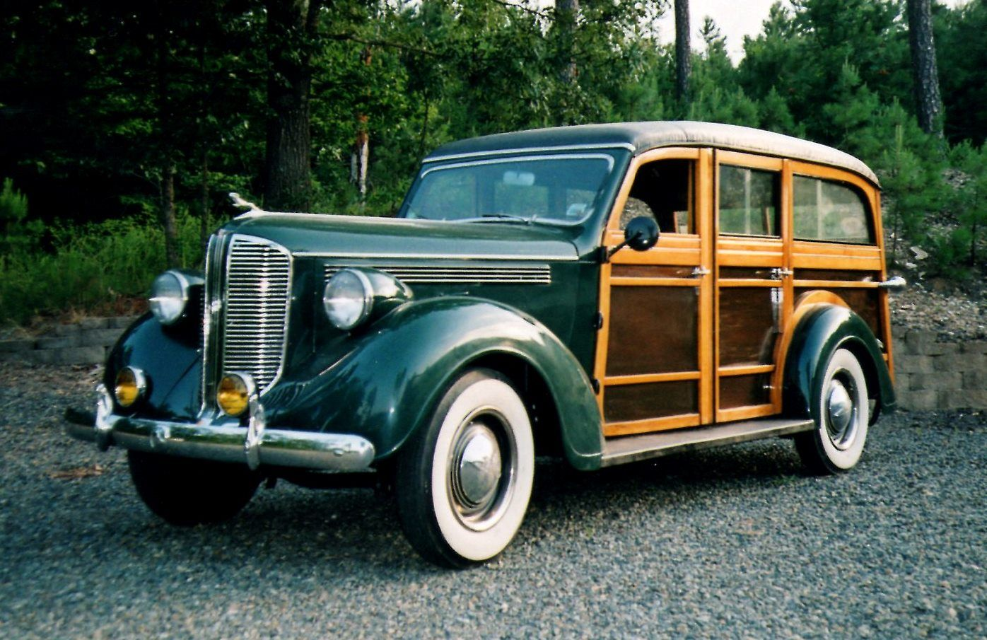 1938 Dodge Westchester Suburban Station Wagon Woody Wagon
