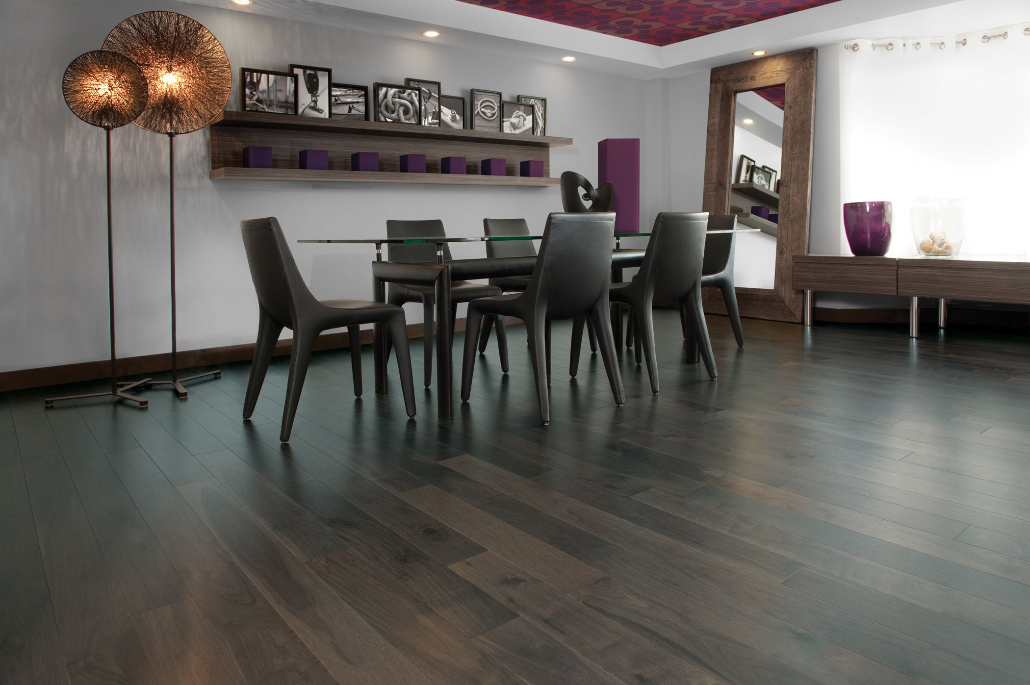 Knotty Walnut Charcoal   Inspiration Collection By Mirage Floors