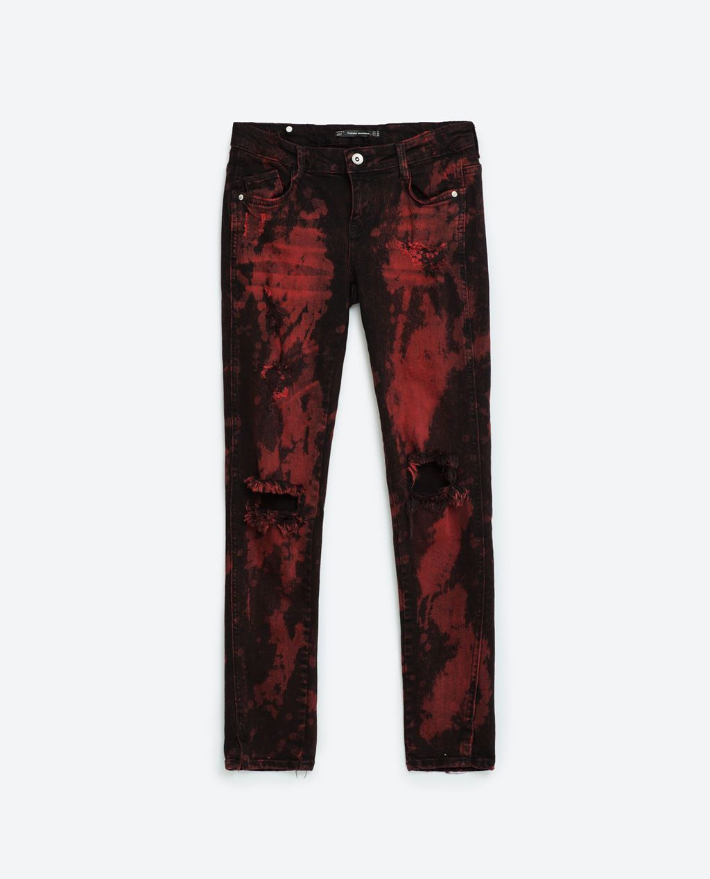 Image 8 of RED BLACK JEANS from Zara | Denim Washes | Pinterest ...