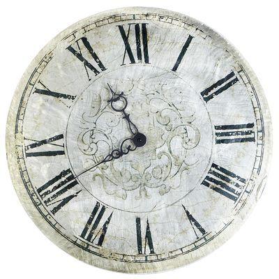 Antiqued Wall Clock Antique Wall Clock Wall Clock Vintage Wall Clock