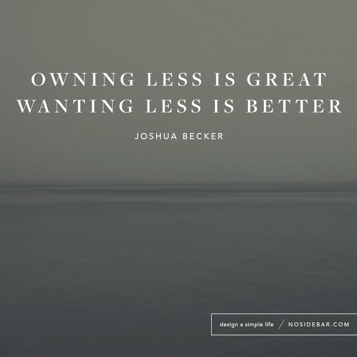 Less- a minimalism blog - A little bit of how it's s'posed ...