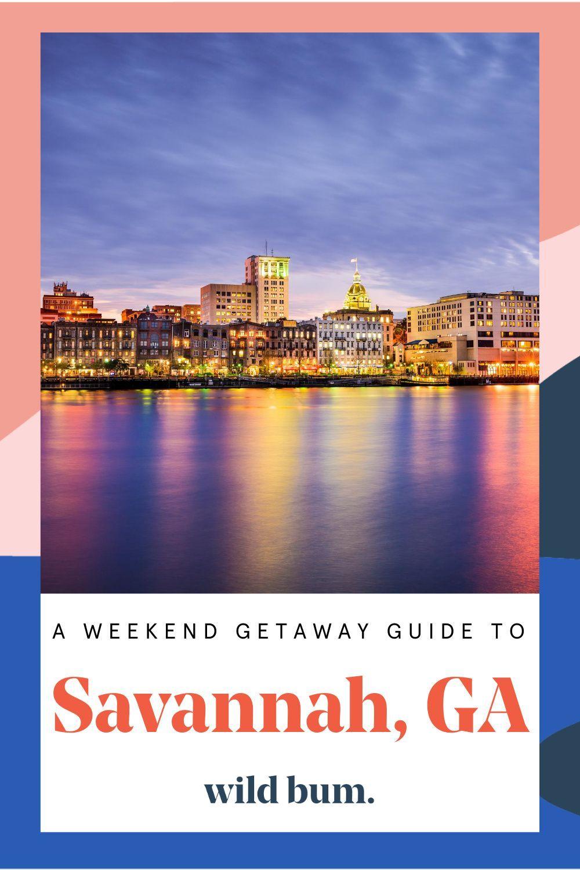 Best Places To Stay In Savannah Georgia Weekend Getaways American Vacations Road Trip Fun