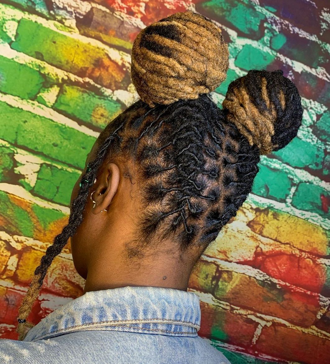 50 Creative Dreadlock Hairstyles For Women To Wear In 2020 Hair Adviser In 2020 Dreadlock Hairstyles Hair Styles Dreadlock Hairstyles Black