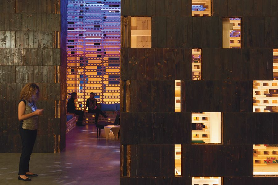 In Detail> Feel the Burn at Outpost Basel - The Architect's Newspaper